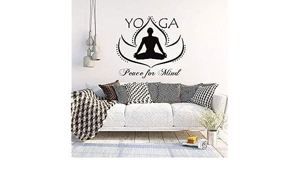 mmzki Cita de Yoga calcomanías de Vinilo Arte Etiqueta de la ...