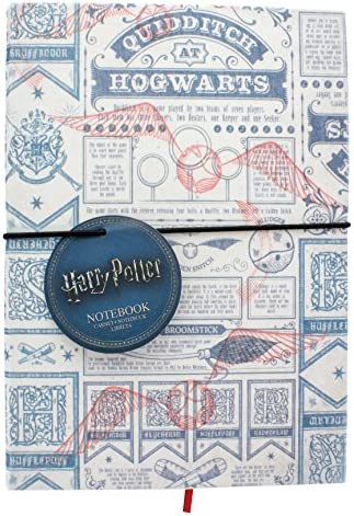 Harry Potter pp4235hp Quidditch Notebook