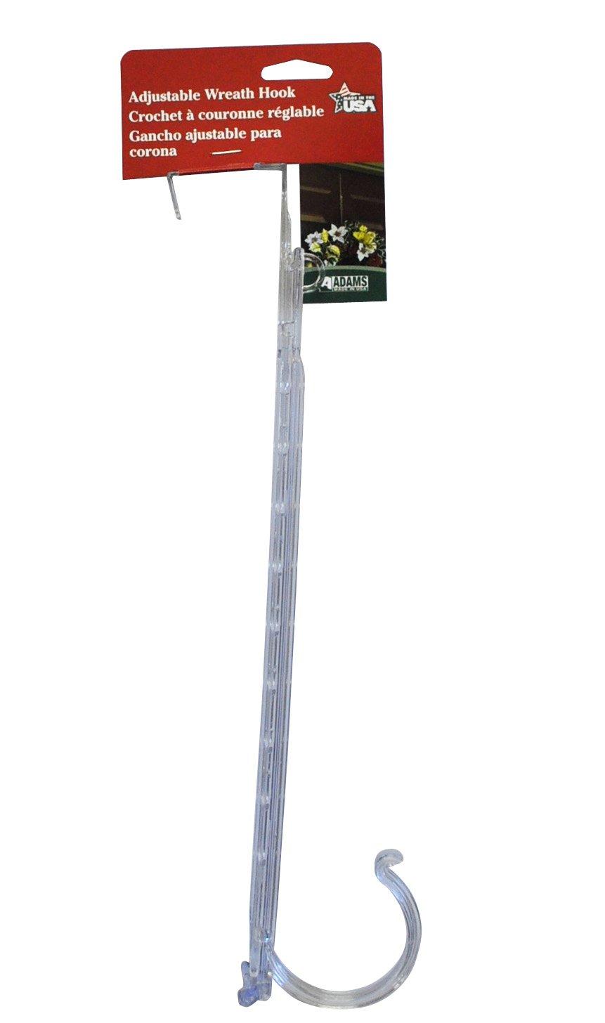 Amazon.com : Adams Christmas 9220 99 1740 Adjustable Wreath Holder/Hook :  Utility Hooks : Garden U0026 Outdoor