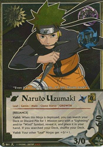 Naruto - Naruto Uzumaki (Reliance) 861 - Promo [Starter] - Super Rare - Foil