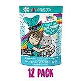 B.F.F. Omg - Best Feline Friend Oh My Gravy!, Seeya Sooner! With Chicken & Tuna In Gravy Cat Food By Weruva, 2.8Oz Pouch (Pack Of 12) Larger Image