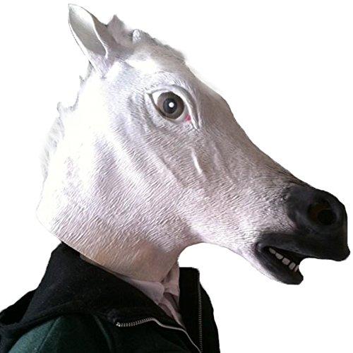 Dog Phantom Of The Opera Costume (Mardi Gras Masks Halloween Party Horse Head Mask Animal Headgear Dog Ma Jun Halloween Horse Mask Jaffaite Plastic Masquerade Masks Funny Scary Haunted White House Face Mask Latex Mask Wholesale)