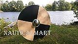 NauticalMart Renaissance Armor 25'' Basic Viking Round Shield - LARP
