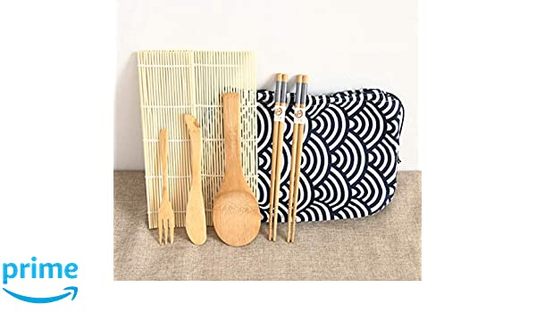 cbee5ec3f0ad Amazon.com | Hoocozi Sushi Making Kit - All-in-one with bamboo mat ...