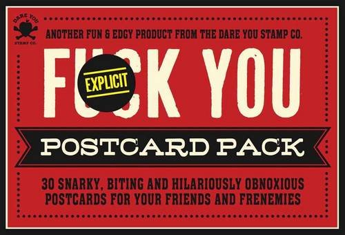 Read Online The Fuck You Postcard Pack PDF