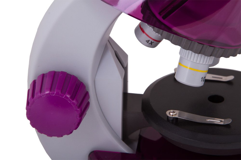 Levenhuk LabZZ M101 Amethyst Microscope for Kids with Experiment Kit by Levenhuk (Image #9)