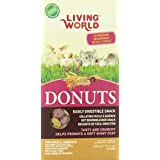 Living World 60590 Donuts for Rabbits and Guinea Pigs, 210gm (7.4-Ounce)