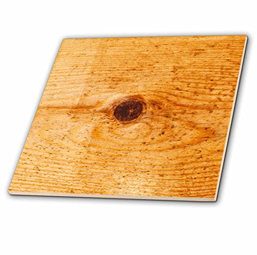 3dRose Alexis Photography - Texture Wood - Colorful wooden texture with a knot in the center - 6 Inch Glass Tile (ct_270930_6) -