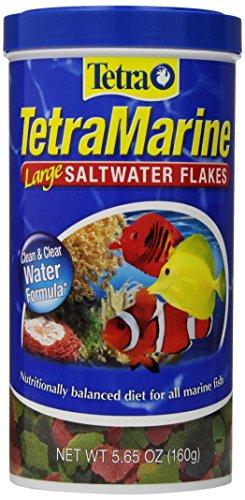 Tetra TetraMarine Large Saltwater Flakes, 5.65-Ounce