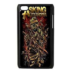 DIY Asking Alexandria Ipod Touch 4 Phone Case, Asking Alexandria Customized Hard Back Case for iPod Touch4 at Lzzcase