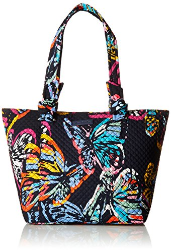 Vera Bradley Hadley East West Tote, Signature Cotton, Butterfly Flutter