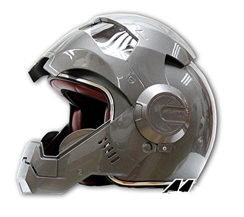 Generisches masei 610 atomicman racing motorrad dot helm s m l xl (splitter)