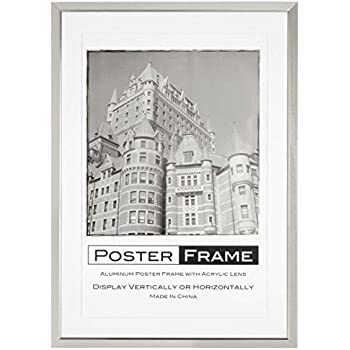 Amazon.com - Matted Poster Frame for 24 x 36 Graphics, Includes 2 ...