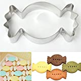 Stainless Steel Candy Shape Mould Cookie Cutter Biscuit Cake Mold