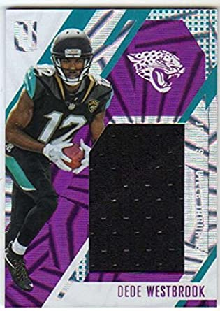 fd634a49b 2017 Panini Unparalleled Rookie Stitches Jersey Purple  99 RC  26 Dede  Westbrook Jaguars