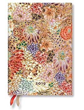 Paperblanks 2019 Kikka Midi - Agenda de citas (12 meses ...