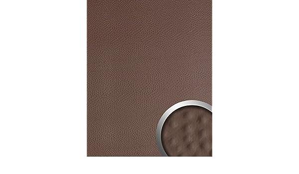 Panel decorativo autoadhesivo de diseño piel de avestruz 13403 OSTRICH con relieve 3D color café 2,60 m2: Amazon.es: Bricolaje y herramientas