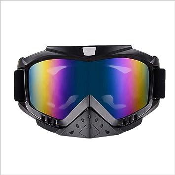 Tcbolsillo Gafas Polarizadas, Gafas De Casco para Motocicletas De Carretera, Gafas De Protección contra
