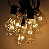 Goothy ST40 Edison Style Bulbs Replacement C9/E17