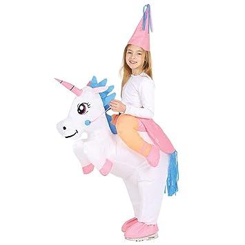 Guirca 88544 - Unicornio Hinchable Infantil Talla 7 9 Años ...