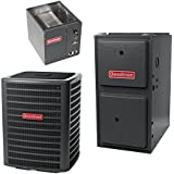 4 Ton 17 Seer Goodman 120,000 Btu 96% Afue Dual Fuel System - DSZC180481 - CAPF4961D6 - GMVC961205DN - TX5N4