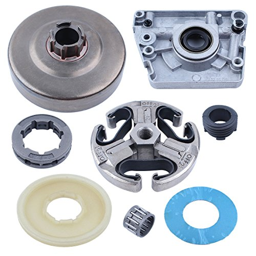 Haishine Clutch Drum Oil Pump Worm Gear Dust Cover Washer for Husqvarna 268 272 66 61 266 Chainsaw 3/8