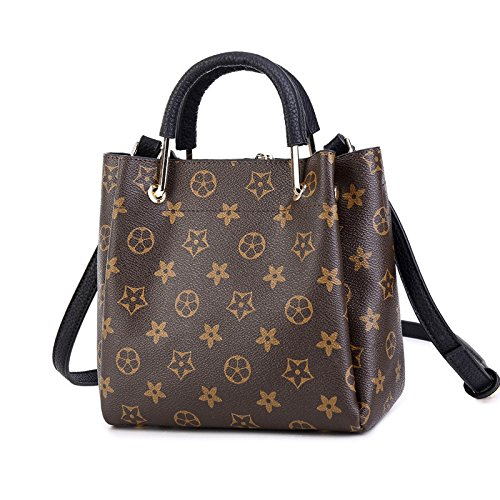 Bag Canvas Shoulder Messenger Retro Bag Women's Handbag Black Fashion Casual 0wYBqnF84