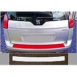 Spécialement conçu pour Peugeot 5008, à partir de 2009; Film de protection peinture pour seuil de chargement transparent