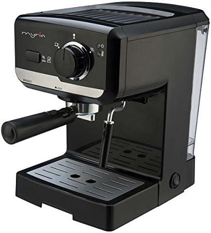 Myria MY4119 Espresso Manual de Café 1050 W, Acero Inoxidable ...