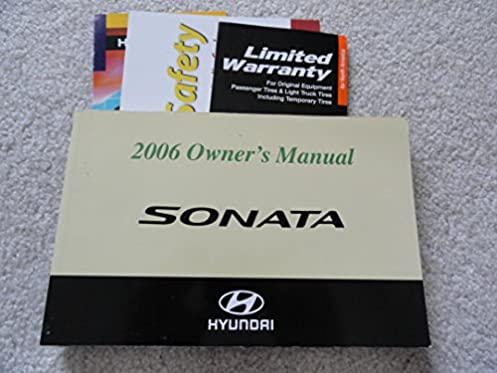 2006 hyundai sonata owners manual hyundai amazon com books rh amazon com hyundai gas golf cart service manual 1991 Hyundai Gas Golf Carts
