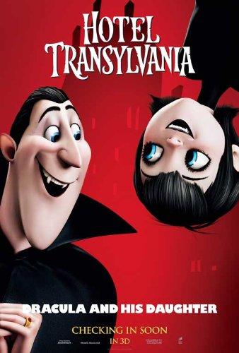Hotel Transylvania (2012) 27 x 40 Movie Poster Adam Sandler, Miley Cyrus, Steve Buscemi, Kevin James, Style (Hotel Transylvania Decorations)