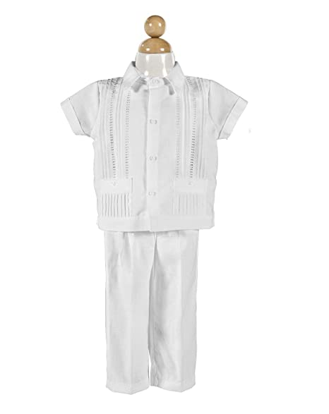 Amazon.com: Boys Baptism/Christening Outfit, Traje De ...