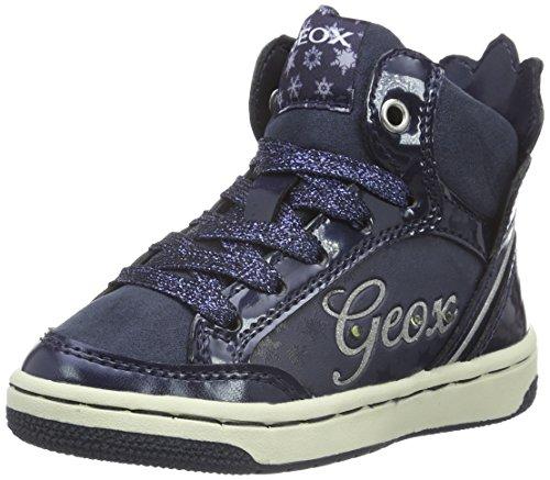 Geox JR Creamy C, Zapatillas Altas para Niñas, Blau (NAVYC4002), 26 EU