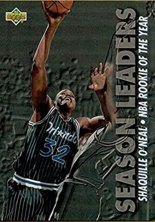 Amazoncom 1993 94 Upper Deck 177 Shaquille Oneal Sl