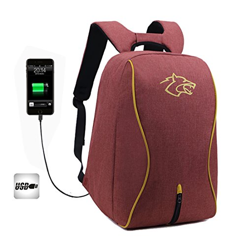 Shoulder Bag Waterproof Laptop Port Outdoor Anti With nbsp; theft For Daypack Usb Travel Sports elr Backpack pn4qq1g