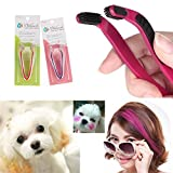 2PCS Dog Hair Coloring Tool Hair Bleach Pet Hair Styling Comb Highlight Hair Dye Brush D.I.Y.