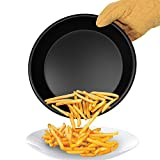 Microwave Crisper Tray- Non-Stick Microwave Safe Cookware Pan for Crisping and Cooking Pizza and Foods for Kitchen, Camper and Dorms by Chef Buddy