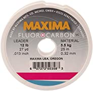 Maxima MFCL12 Fluorocarbn 12-Pounds Leader 27-Yard