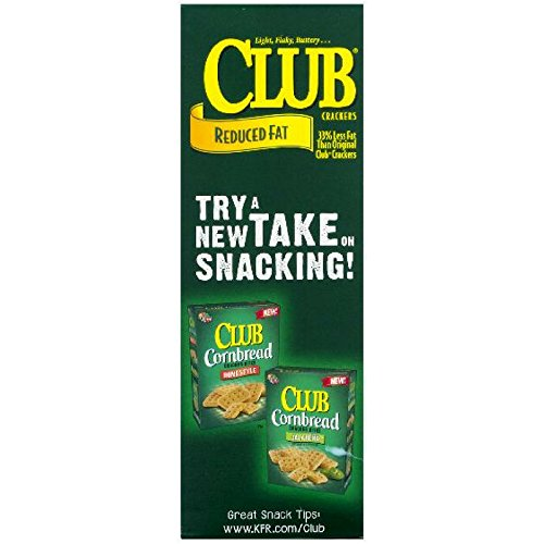 Keebler Club Snack Crackers (Original-Reeduced Fat, Pack of 3)