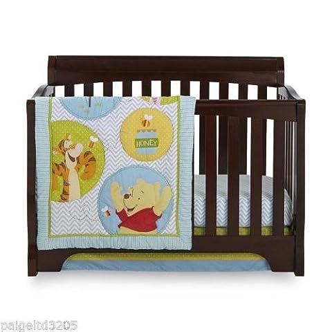 Disney Winnie the Pooh Play Day 4-Piece Crib Bedding Set