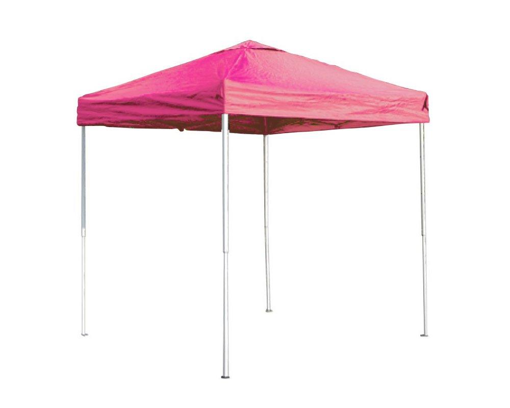 アウトドア、イベントと役に立つこといっぱい!UVカットも抜群!組立簡単!!ワンタッチタープテント (ピンク, 250cm) B00KCOMGQU