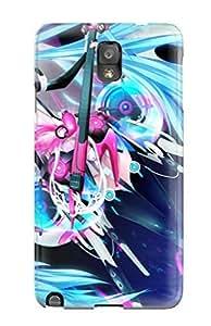 QtPrESp3658CXZfx Case Cover Miku Hatsune Galaxy Note 3 Protective Case by icecream design