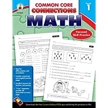[(Common Core Connections Math, Grade 1 )] [Author: Carson-Dellosa Publishing] [Sep-2013]