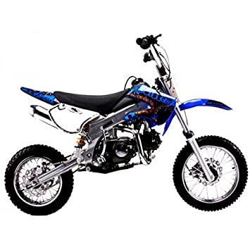 amazon com blue dirt bike coolster 125cc engine klx style db214fc rh amazon com