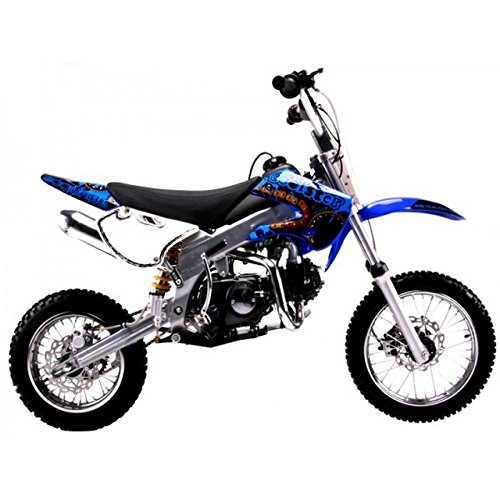 Blue DIRT BIKE COOLSTER 125CC ENGINE KLX STYLE DB214FC