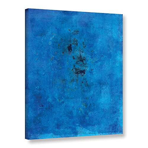 "ArtWall Elana Ray's Blue Grunge Gallery Wrapped Canvas, 18 x 24"", Multicolor"