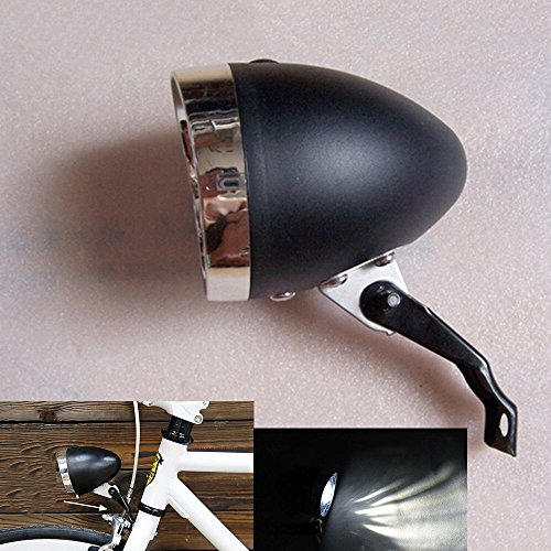 Goodkssop Black Vintage Bicycle Headlight product image