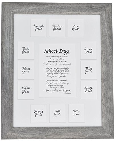 Amazon.com - All Things For Mom School Picture Frame - 11X14 Gray ...