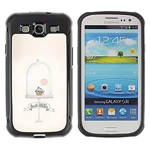 Suave TPU GEL Carcasa Funda Silicona Blando Estuche Caso de protección (para) Samsung Galaxy S3 III I9300 / CECELL Phone case / / Cupcake Muffin Cute Minimalist Clean /