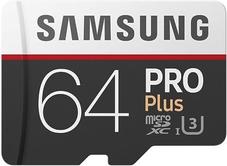 TALLA 64 GB. Samsung Memory Pro Plus - Tarjeta de memoria de 64GB